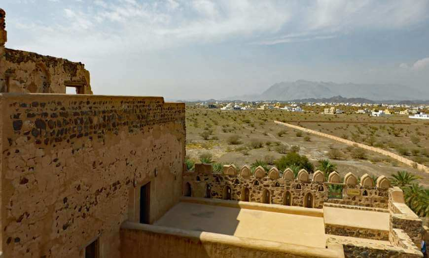 Jabreen Castle in Oman