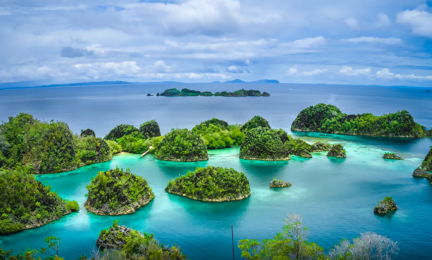 Raja Ampat in West Paua, Indonesia