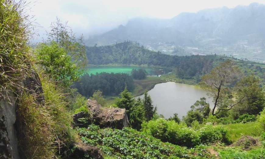 dieng plateau indonesia