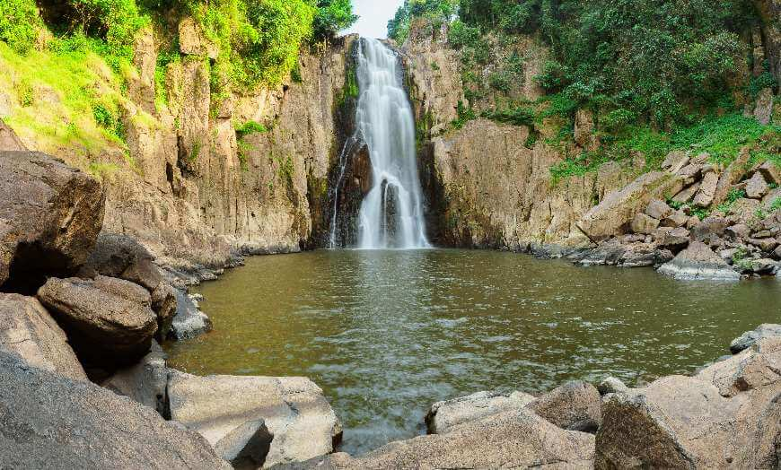 Khao Yai National Park waterfall, Thailand