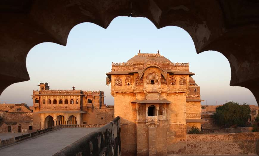 Historic architecture of Ranvas in Rajasthan