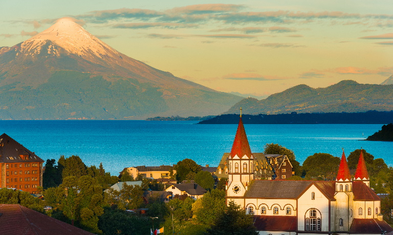 Puerto Varas in Chile's Lake District