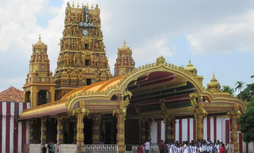 Kandaswamy Temple in Jaffna