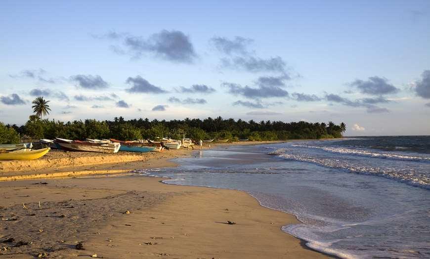 Kalkudah Beach near Batticaloa Sri Lanka
