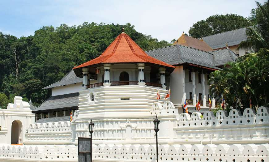 Tooth of the Temple in Kandy Sri Lanka