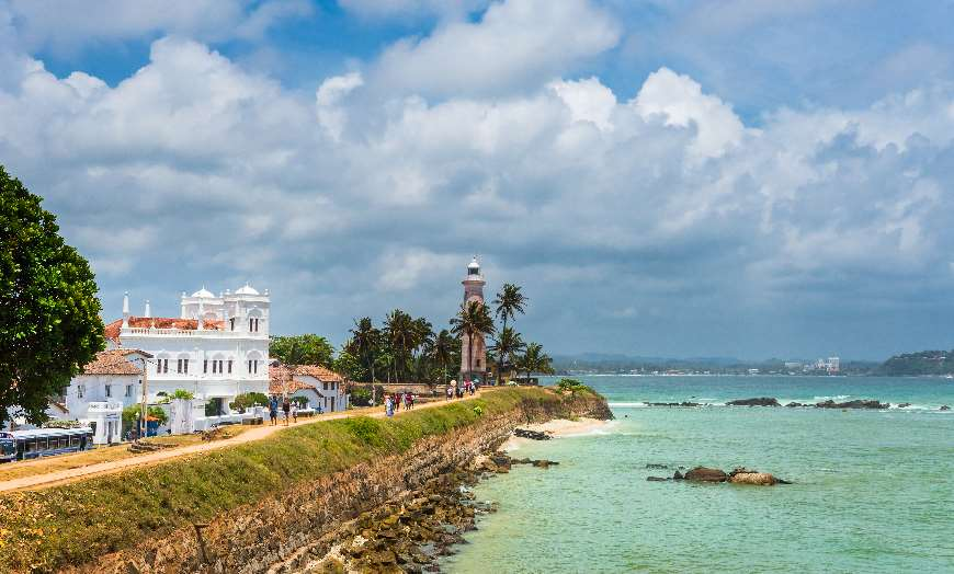 Galle lighthouse and fort