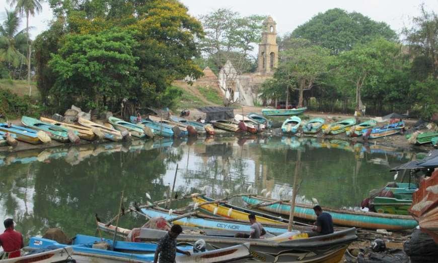 Negombo Lagoon Sri Lanka