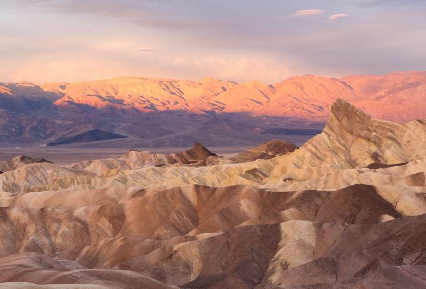 Surreal landscapes of Death Valley, California