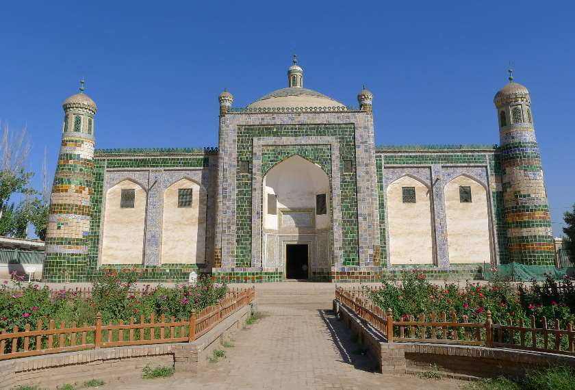 The Apak Hoja Mazzar Xiangfei Tomb in Kashgar, China