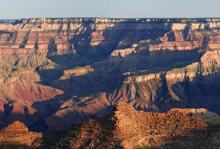 Panorama of the Grand Canyon from Navajo Point