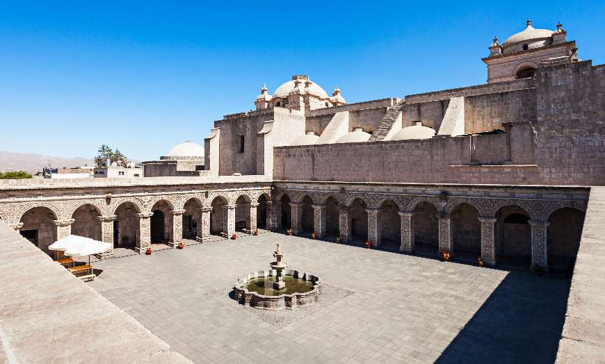 Jesuit church of the company of jesus arequipa peru