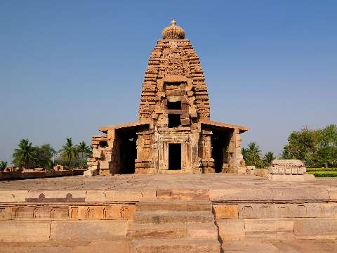 Hindu and Jain temple complex of Pattadakal in Karnataka