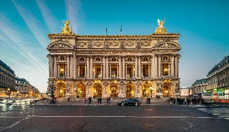 Palais Garnier Opera House in Paris